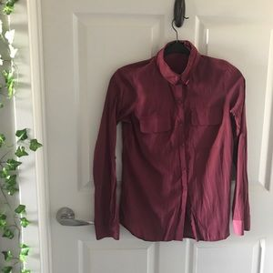 Solid Maroon City Shirt